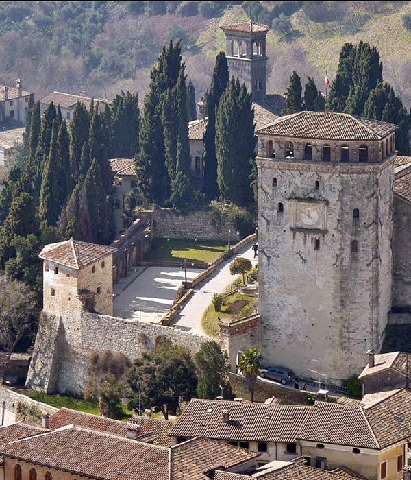 Asolo -Castello Regina Cornaro
