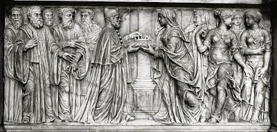 Cosa vedere ad Asolo, Monumento funebre di Caterina Cornaro