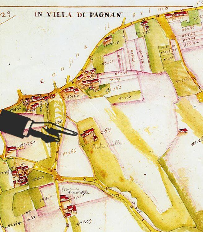 mappa-Asolo Antica B&B