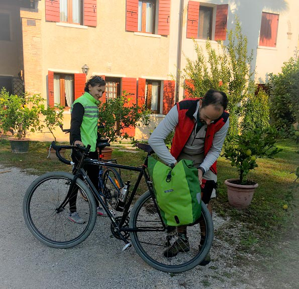 Pedalando in Bicicletta la Domenica